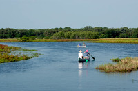 Canoeing on the Myakka River, Myakka River State Park, Florida, USA