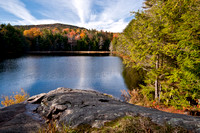 Lapland Pond in Autumn, Adirondack Park, NY, USA